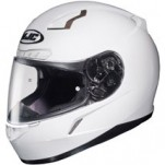 HJC CL-17 Helmet Solid White