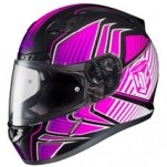 HJC CL-17 Redline MC-8 Helmet Purple/Black/White