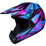 HJC Youth CL-XY Fulcrum MC-8 Helmet Blue/Purple/Black
