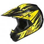 HJC CL-XY Pop'n Lock MC-3 Helmet Black/Yellow/Gray