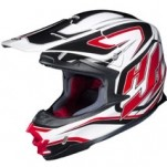 HJC FG-X Hammer MC-1 Helmet White/Black/Red