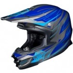 HJC FG-X Talon MC-2 Helmet Blue/Gray/Light-Blue (Closeout)