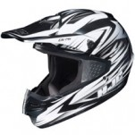 HJC CS-MX Shattered MC-10 Helmet White/Gray (Closeout)