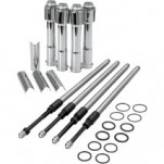 S&S Quickee Adjustable Pushrod Kit for XL 04-13