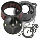 "S&S Optional Stealth Hl-flo Filter Kit (1"" taller) for Super Stock Stealth Air Cleaner Kits"