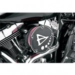 Arlen Ness Big Sucker Derby Cover Air Filter Kits W/ Standard Pre-Oiled Filter Black for XL models w/ CV carb or Delphi EFI 91-12