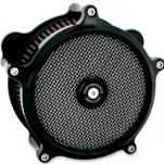 Performance Machine Super Gas Air Cleaners for Big Twin W/ Cv Carb 93-06
