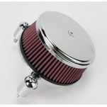 Arlen Ness Big Sucker Stage I Standard Air Filter Kits W/ Cover Chrome for FLHT 08-12