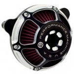 Performance Machine Max HP Air Cleaner for FLHR 08-13