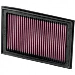 K&N Air Filter for Kawasaki Ninja 250R 08-12 (KA-2508) (Closeout)