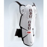 Knox Meta-Sys Back Protector White/Red/Black