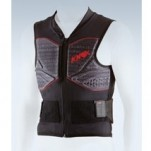 Knox Track Vest V14 Black/Gray