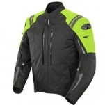 Joe Rocket Men's Atomic 4.0 Textile Jacket Black/Neon