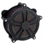 Roland Sands Design Venturi Air Cleaner Judge, Black Ops for FXDB/I 06-12