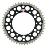 Renthal TwinRing Rear Drive Sprocket (Black) for DR-Z400/E/SM 00-11