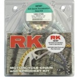 RK 520 Conversion (Steel) Quick Accel Kit for GSX-R600 04-05 (Closeout)