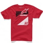 Alpinestars Chisel T-Shirt Red (Closeout)