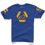 Alpinestars Sniper T-Shirt Royal-Blue (Closeout)