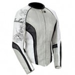 Joe Rocket Women's Cleo 2.2 Mesh Jacket Silver/Black/White
