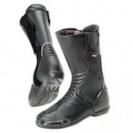 Joe Rocket Men's Sonic R Waterproof Touring Boots Black/Black