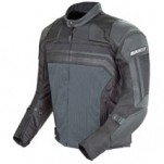 Joe Rocket Men's Reactor 3.0 Mesh Jacket Black/Gun-Metal