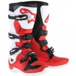 Alpinestars Men's Tech 5 Boots Red/White/Black