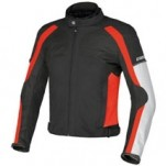 Dainese Spedio D-Dry Jacket Black/Red/Grey (Closeout)