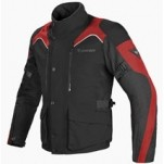 Dainese Tempest D-Dry Jacket Black/Black/Red