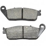 Drag Specialties Organic Brake Pads for Crosscountry 10-14