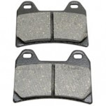 Drag Specialties Organic Brake Pads for Hammer 05-07