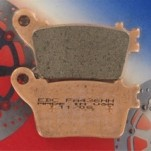 EBC HH Sintered Rear Brake Pads for ZX10R (w/ ABS) 11-14