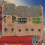 EBC HH Sintered Front Brake Pads for YZF-R1 07-14