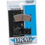 Drag Specialties Aftermarket Semi-Metallic J-Brake Custom Caliper 4-Piston Brake Pad (Closeout)