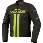Dainese VR46 Textile Jacket Black/Yellow