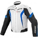 Dainese Crono Textile Jacket White/Black/Princess-Blue