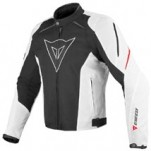 Dainese Laguna Seca Textile Jacket Black/White/Red