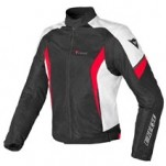 Dainese Air Crono Textile Jacket Black/White/Red