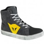 Dainese Street Biker D-WP Shoes Antracite/Yellow
