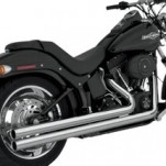 Vance & Hines Big Shots Long Full Exhaust for FXS 86-11