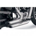 Vance & Hines Shortshots Staggered Full Exhaust System Chrome for XL 04-13