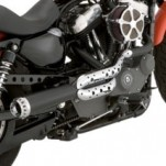 Roland Sands Design Tracker 2-into-1 Full Exhaust System for XL Models 04-13 (Closeout)