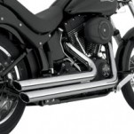 Vance & Hines Big Shots Staggered Full Exhaust for FXST 86-11