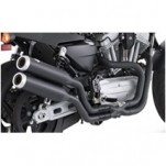 Vance & Hines Widow XR 2-1-2 System Full Exhaust System Black for XR1200 09-12