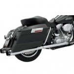 Bassani +P Bagger Stepped True-Duals Full Exhaust (Chrome) for FLHX 95-16