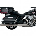 Vance & Hines Stainless Hi-Output 2-Into-1 Full Exhaust System for FLHR 99-08 (Closeout)