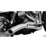 Vance & Hines Big Radius 2-Into-1 Full Exhaust Chrome for FXDWG/I 06-11 (Closeout)