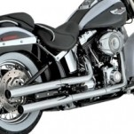 Vance & Hines Straightshots Slip-On Exhaust for FLSTN 07-16