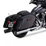 Vance & Hines Oversized 450 Slip-on Exhausts for FLHX 95-15