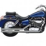 Cobra Hot Rod Exhaust for VT750C2 Shadow ACE 98-03