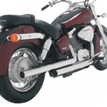 Vance & Hines Straightshots HS Exhaust for 750 Shadow Aero 04-09
